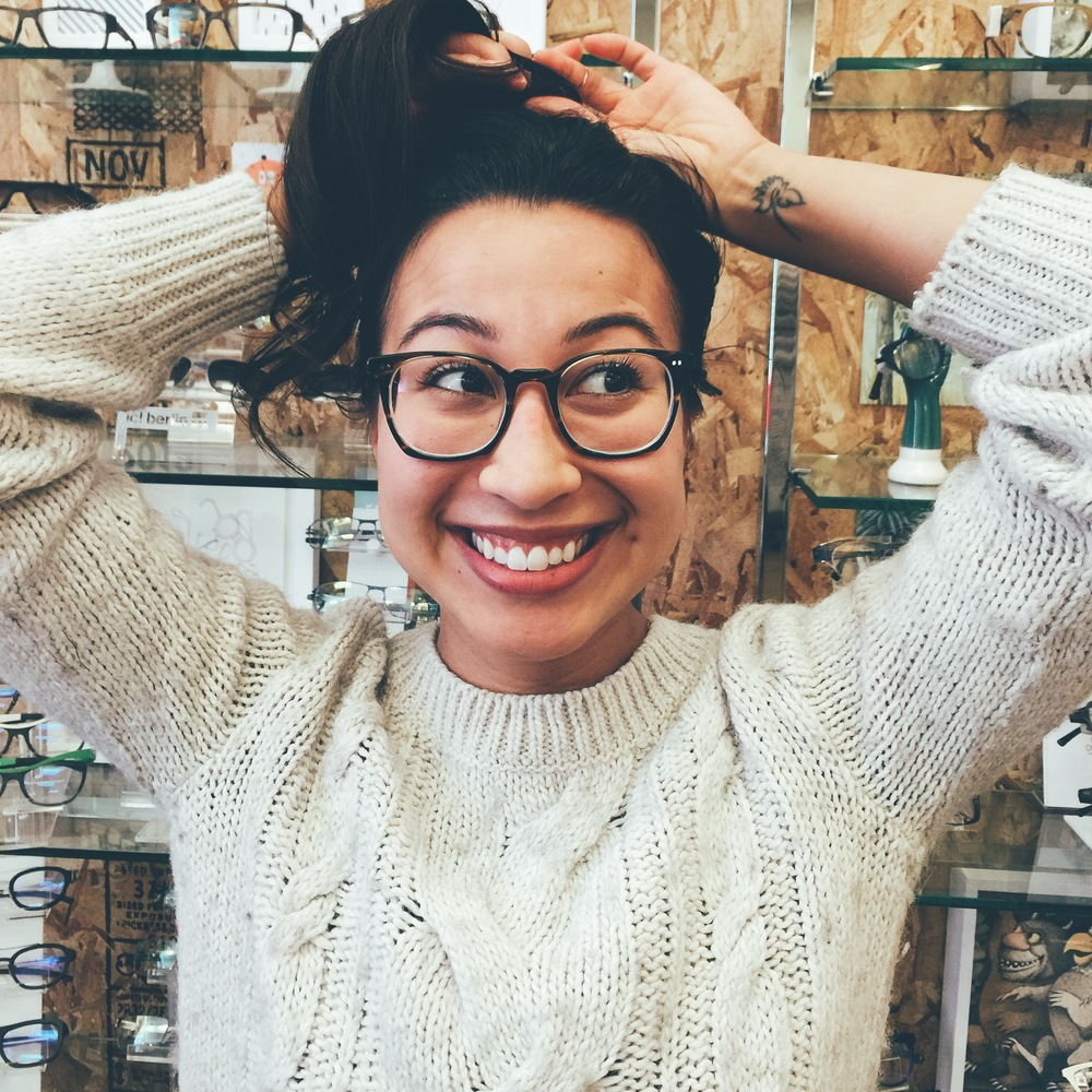 Our glasses will make your hair do. ? Oliver Peoples + Zeiss HD lenses