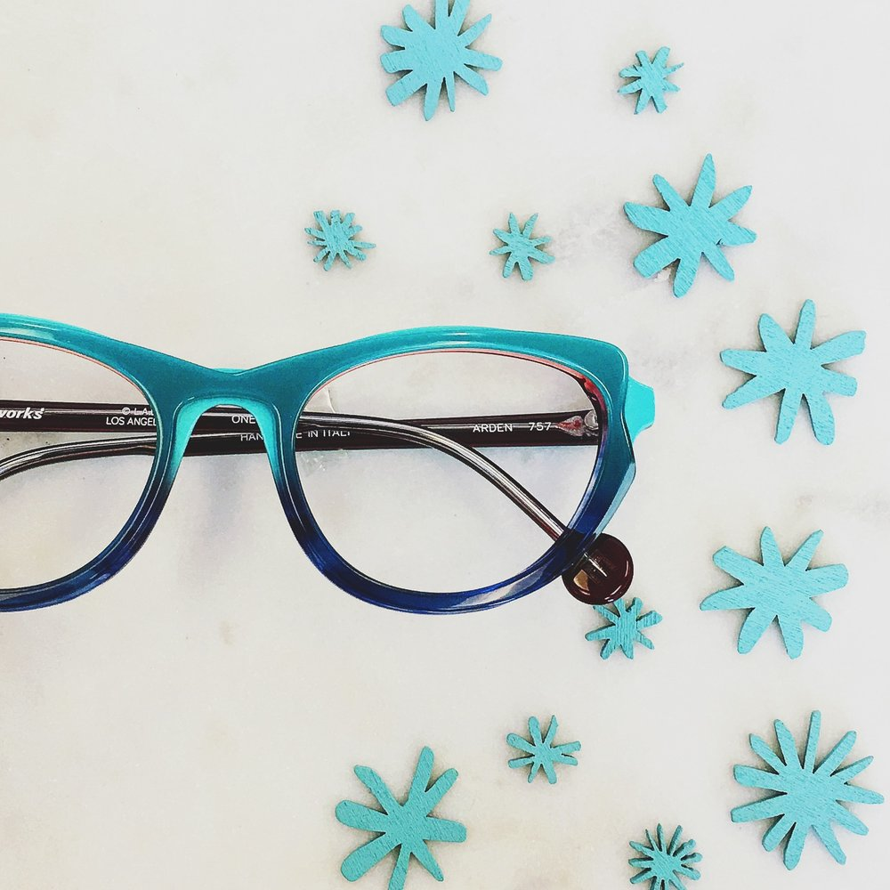 Icy hot from l.a.Eyeworks, USA.