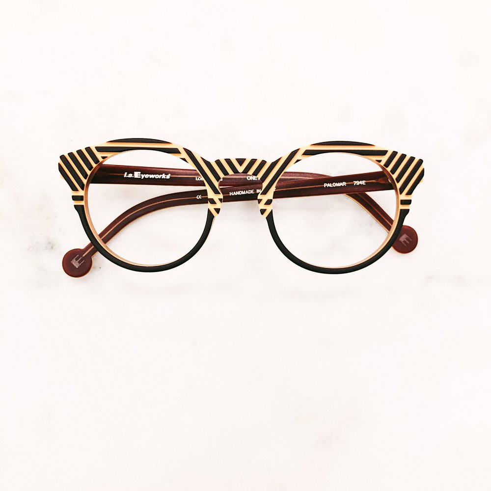 When you radiate rad glasses. Glasses by LA Eyeworks.
