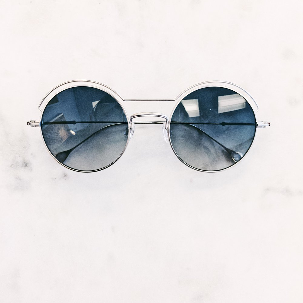 This is how you enter the Matrix. Rad glasses by Anne et Valentin.