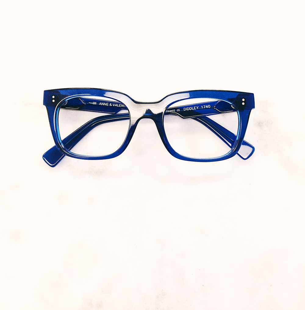 Add color. Add life. Rad glasses by Anne et Valentin.