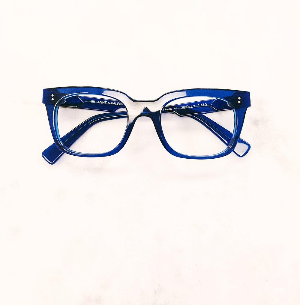 Add color. Add life. Rad glasses by Anne et Valentin.